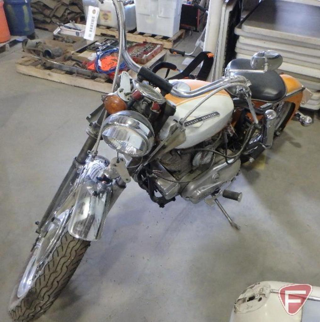 1964 Harley Davidson motorcycle, VIN #64XLH4204