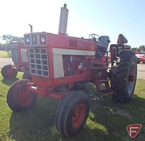 1973 966 International Harvester tractor, SN: 21126, 8,338 hrs showing, diesel, 540/1000 pto