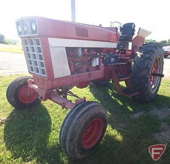 1974 1066 International Harvester tractor, SN: 2610172UO35578 diesel engine, 18.4 x 38 tires