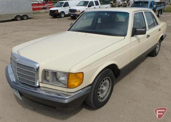1981 Mercedes-Benz 300SD Passenger Car, VIN # wdbcb20a8bb002676