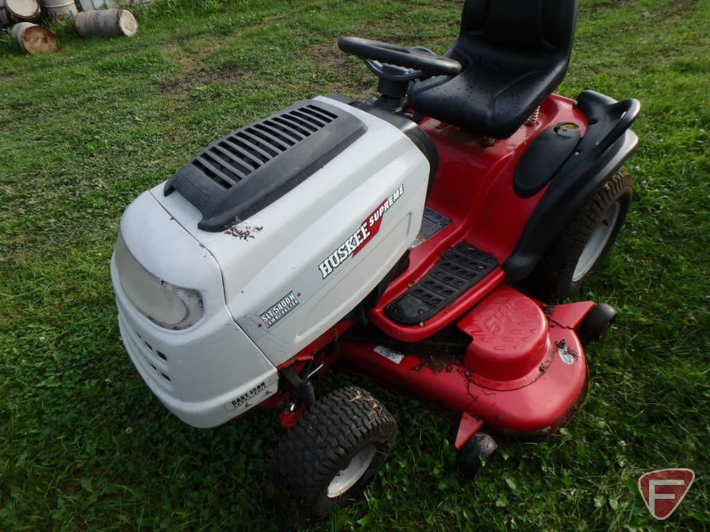 Huskee Supreme Slt 5400h Lawn Tractor Riding Mower 54in Deck With 23hp Vtwin Kohler