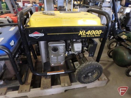 Briggs & Stratton XL4000 gener    Auctions Online | Proxibid