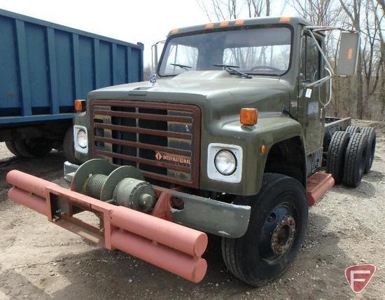 1989 Navistar International F-1954 Truck, VIN