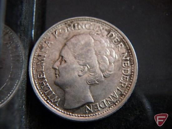 Replica of 1913 nickel amd 10 cent coin/dime