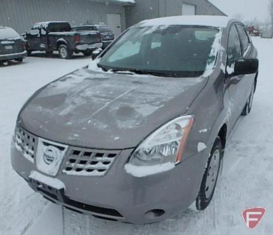 2010 Nissan Rogue Multipurpose Vehicle (MPV), VIN # JN8AS5MT7AW020281