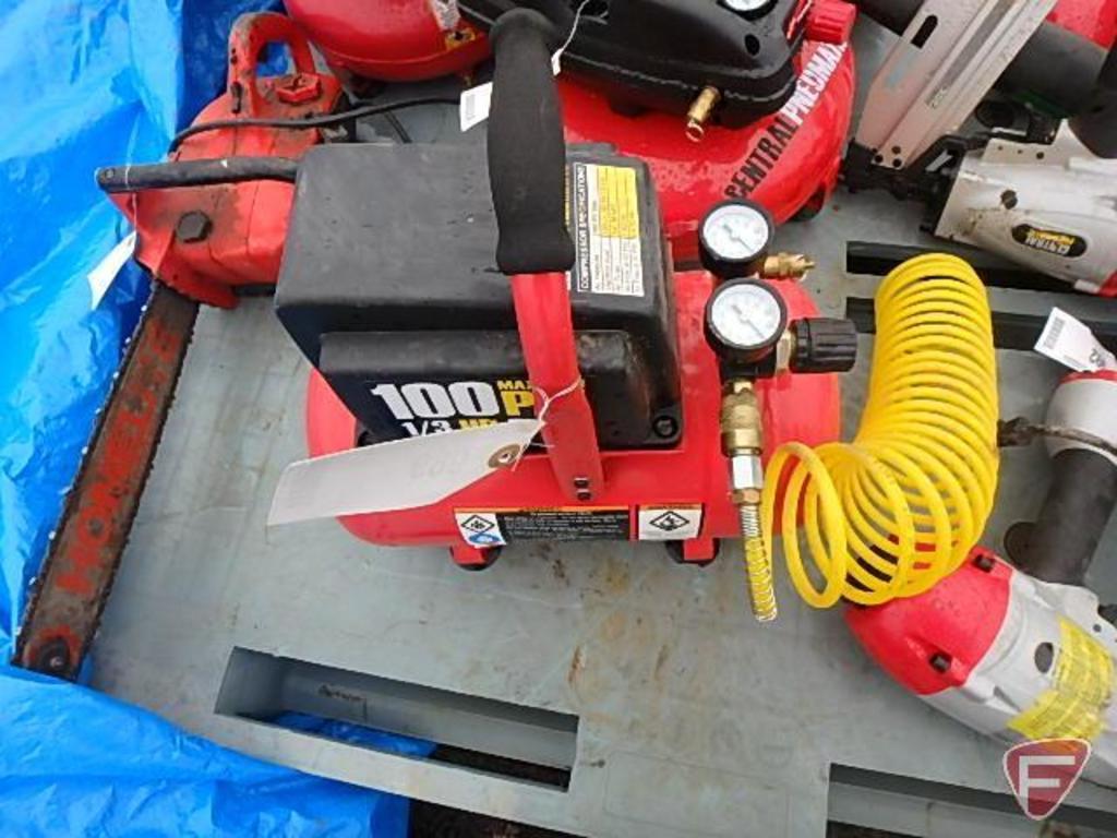 1/3 hp Air Compressor with Hose