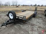 2006 Load Trail 20' (18+2) tandem axle trailer, 7000 Lb axles, brakes on both axles, spare tire