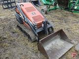 DITCH WITCH SK500 LOADER, 1888 HOURS ON METER, 28 HOURS ON A NEW HONDA ENGINE, NEWER TRACKS