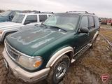 2000 Ford Explorer Multipurpose Vehicle (MPV), VIN # 1FMZU84P2YZA91146