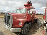 SCRAP OR PARTS ONLY NO TITLE 1979 FORD 8000 TANDEM TRUCK 96