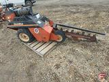 Ditch Witch 1620KE walk-behind trencher, 4608 hrs showing, sn 1K2048