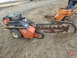 Ditch Witch 1620KE walk-behind trencher, 529 hrs showing/actual unknown, sn 1K2044