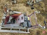 NEW NORTHERN INDUSTRIAL CONSTRUCTION CONCRETE CURB MACHINE 4.5 HP ROBIN