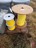 2 NEW SPOOLS OF 5/16 ROPE AND 1 NEW PARTIAL SPOOL 5/8 ROPE