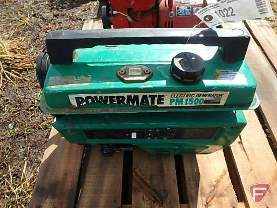 Powermate PM1500 portable generator