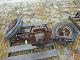Tractor wide front fits M Farmall