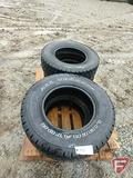 (4) All-Terrain 235/75R15 tires