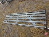 14' Farm Gate Galvanized