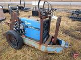 MILLER WELDER ON TRAILER BAD MOTOR