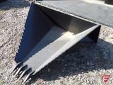 New Tomahawk Stump Bucket, Fits Universal Skid Steer, DMH-3011