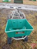 LESCSO STAINLESS STEEL BROADCAST SPREADER #80 CAPACITY