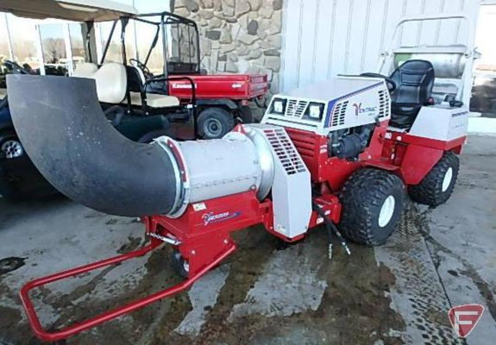Ventrac 4500Z dual fuel compact tractor, 182 hrs showing, SN: 4500Z-AJ02163