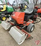 2007 Jacobsen Greens King IV triplex gas 2WD greens reel mower with baskets, 5,703 hrs, SN: 62287