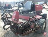 Toro 5500D diesel 2WD 5-gang reel fairway mower, 9-blade reels, lights, 5,655 hrs, SN: 2500D5