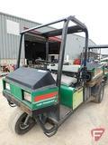 Cushman 3-wheel 2WD gas utility vehicle with hydraulic dump box, ROPS, headlights, 11,174 hrs