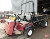 Toro 3200 Workman utility vehicle, 2754 hours showing, SN: 07202 200000647