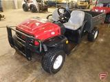 2009 Toro Workman E2065-07299 side by side utility vehicle with manual dump box, 1,139 hrs showing