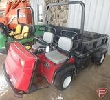 Toro Workman 4300D 4WD diesel utility vehicle, 4,907 hrs showing, high flow hydros, ROPS, lights