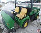 John Deere Pro Gator 2020 2WD gas utility vehicle, with choke, 1,872 hrs showing, ROPS, lights,