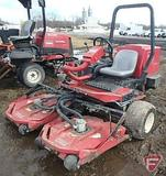 Toro Sidewinder, 3WD, Tri-deck diesel rotary mower, ROPS, 5,784 hrs showing