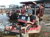 Toro 580D tri-deck 16' wide area diesel 2WD rough-cut rotary mower, ROPS, 6,000 hrs showing