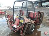 Toro 4000D diesel 4WD five-deck 12' fairway mower, ROPS, 3,750 hrs showing