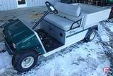 2006 Club Car Carry All Turf II gas utility vehicle, manual dump, lights, 1,951 hrs showing