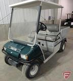 Club Car Carry All utility vehicle with top, electric, green, SN: hd0538-548473