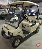Club Car electric golf car, with top and windshield, beige, SN: nq0399-194336
