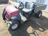 2005 Toro WM2110 utility vehicle with electric dump, SN: 07277TC-250000132