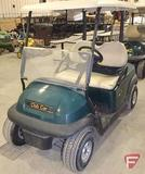 2014 Club Car Precedent electric golf car with top, green, windshield, SN: JE1439-498811