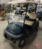 2014 Club Car Precedent electric golf car with top, green, windshield, SN: JE1439-498913