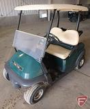 2014 Club Car Precedent electric golf car with top, green, windshield, SN: JE1439-498998