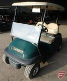 2014 Club Car Precedent electric golf car with top, green, windshield, SN: JE1439-498985