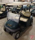 2014 Club Car Precedent electric golf car with top, green, windshield, SN: JE1439-498883