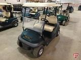 2014 Club Car Precedent electric golf car with top, green, windshield, SN: JE1439-498809