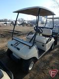 2002 Club Car DS gas golf car with top, beige, SN: ag0238-201091