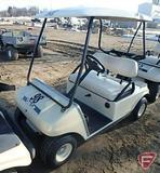 2002 Club Car DS gas golf car with top, beige, SN: ag0238-201092