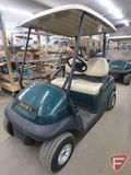 2014 Club Car Precedent electric golf car, green, with roof