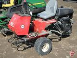 Jacobsen IV triplex greens mower, 2,980 hrs showing, SN: 622571747, no reels with unit